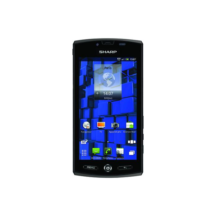 Sharp lance l'Aquos Phone SH80F qui convertit de la 2D en 3D