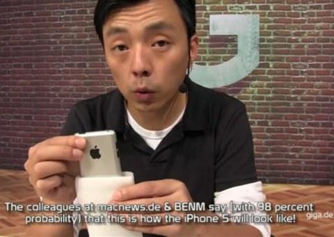 Un vrai faux iPhone 5 en vidéo