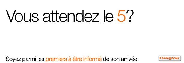 iPhone 5 - Orange l'annonce... ou presque