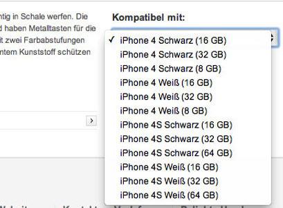 L'iPhone 4S sera disponible en 16, 32 et 64Go et toujours en noir et en blanc