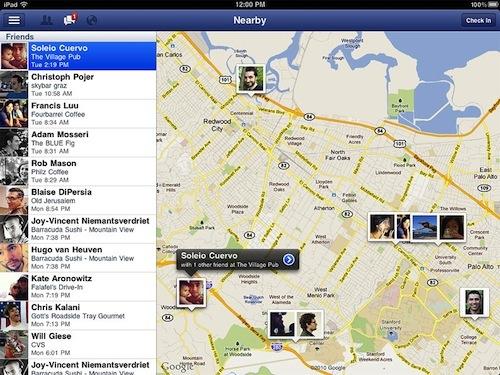 Facebook pour iPad en approche finale