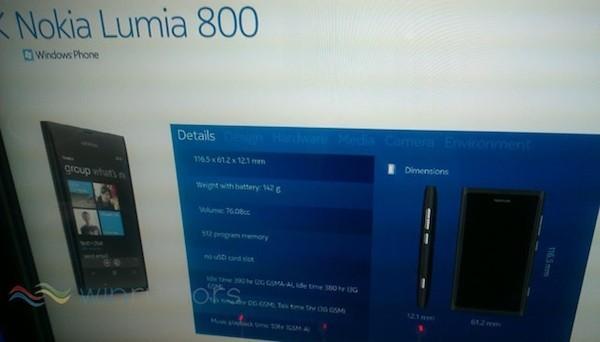 Windows Phone 7 - Nokia devrait annoncer les Lumia 710 et 800 pour la Nokia World
