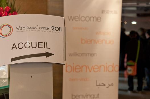 Vidéo du WebDeux Connect 2011