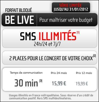 NRJ Mobile revoit ses forfaits BeLive et Ultimate Smartphone