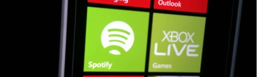 Spotify arrive sur Windows Phone