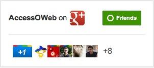 Badge Google+ pour Pages Google+