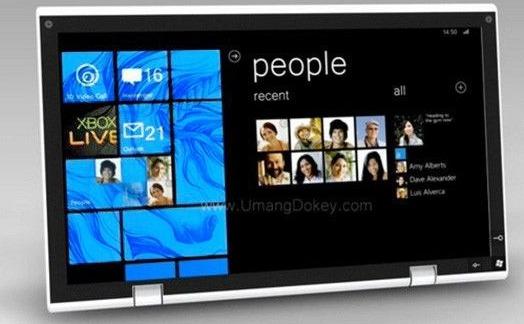 Une tablette Nokia sous Windows 8 en 2012