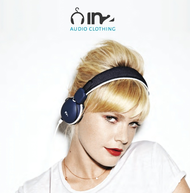 "IN2 lance avec ses casques le mouvement ""audio clothing"""