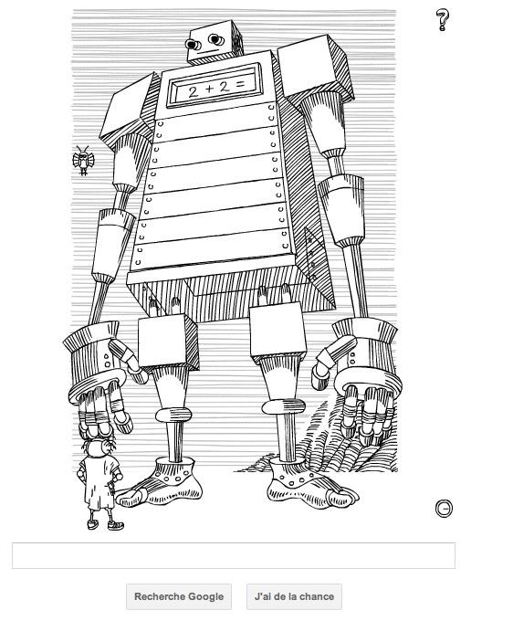 Google honore Stanislas Lem avec un doodle interactif
