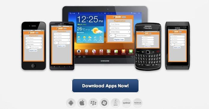 Jaxtr - Envoi de SMS gratuit depuis un mobile partout dans le monde
