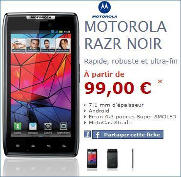NRJ Mobile - Des nouveautés avec un HTC Sensation XL Beats et un Motorola Razr