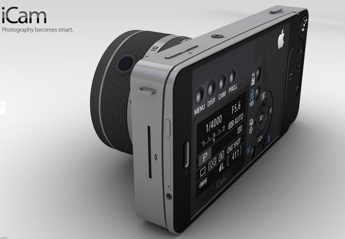 Apple iCam - Un concept qui pourrait tuer Nikon, Canon, Lumix, etc...