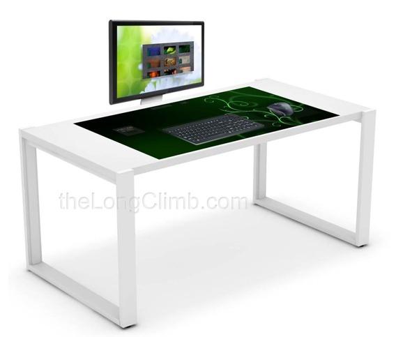 Exodesk un vrai bureau tactile for Surface mini bureau