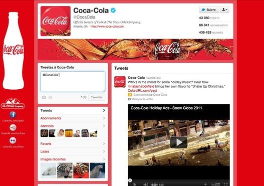 Twitter - Les profils des Marques commencent à voir le jour