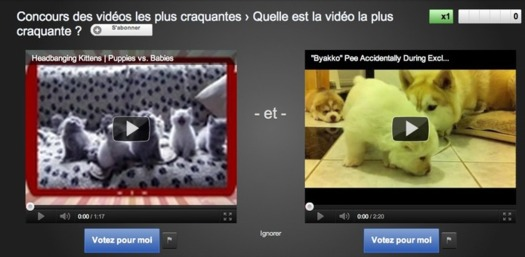 Youtube Slam - Elisez la meilleure vidéo par catégorie
