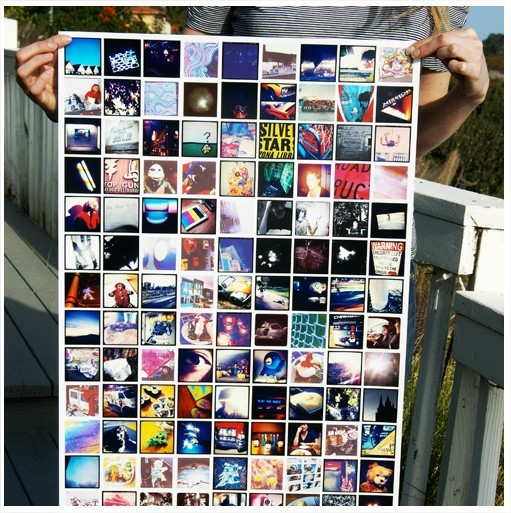 Vos photos Instagram en poster, stickers ou mini album
