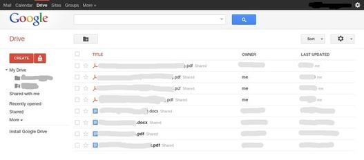 Google Drive arrive... visiblement