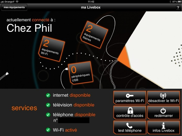 Orange - Ton application Live Box est sympa mais...