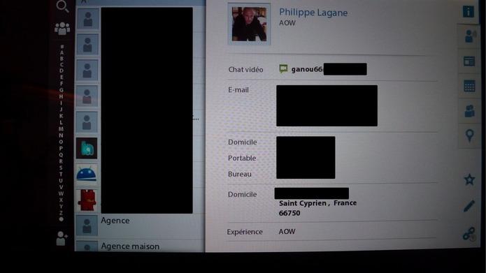 Blackberry Tablet OS 2.0 - Mail, Contact et Agenda au rendez vous