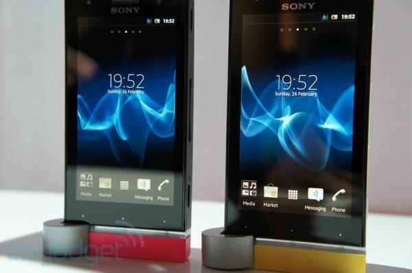 MWC 2012 - La prise en main du Sony Xperia U (vidéo)