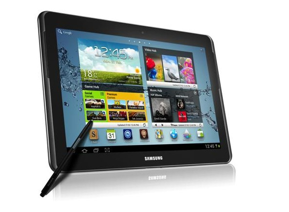 Samsung Galaxy Note 10.1 annoncé officiellement