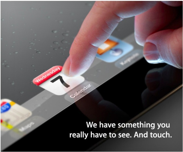 Un iPad 3 sans bouton Home, écran Rétina et plus cher ?