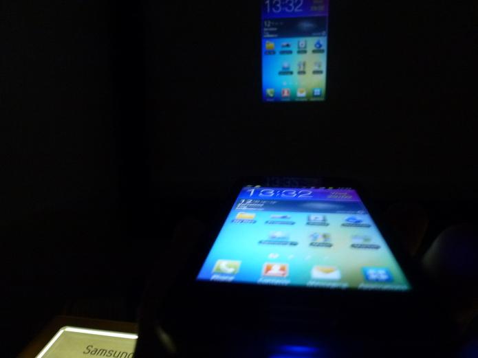 Samsung Galaxy Beam - petit test vidéo, photo et dock