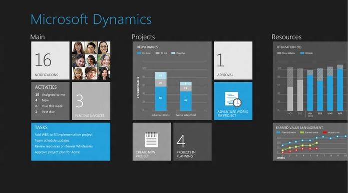 Microsoft fait la démo d'applications pro sous Windows 8 utilisant le langage Metro
