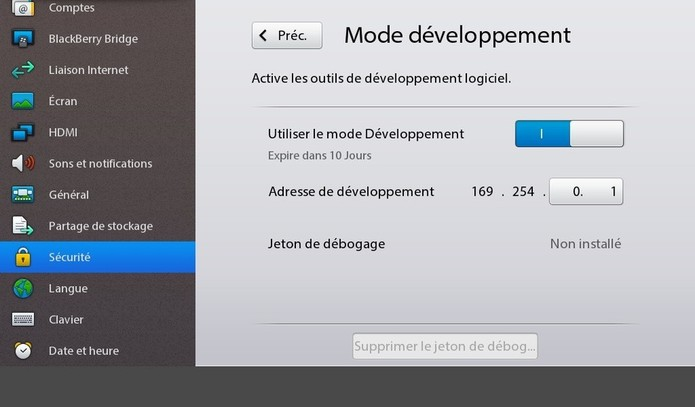 Installer des applications Android sur sa Playbook depuis un Mac