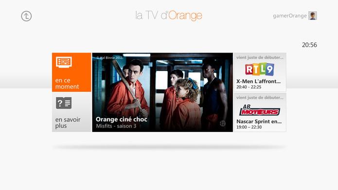 Orange TV sur Xbox 360 - C'est parti