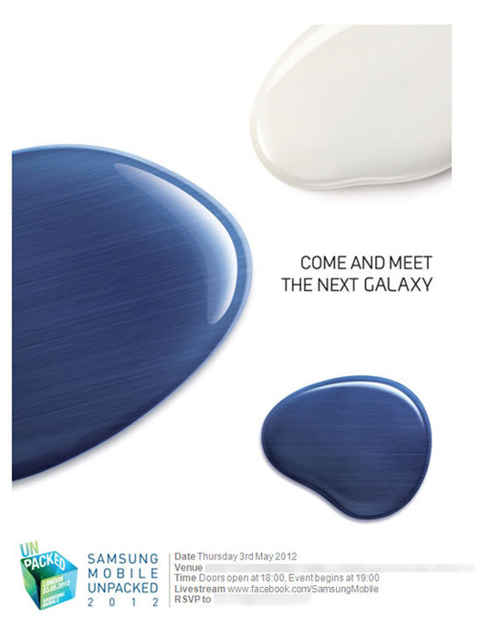 Samsung Galaxy S3 - Le 3 Mai à Londres on saura tout