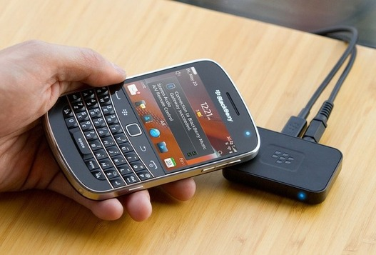 Blackberry Music Gateway - La musique via NFC ou Bluetooth signé Blackberry