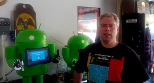 KegDroid - La pompe à bière sous Android