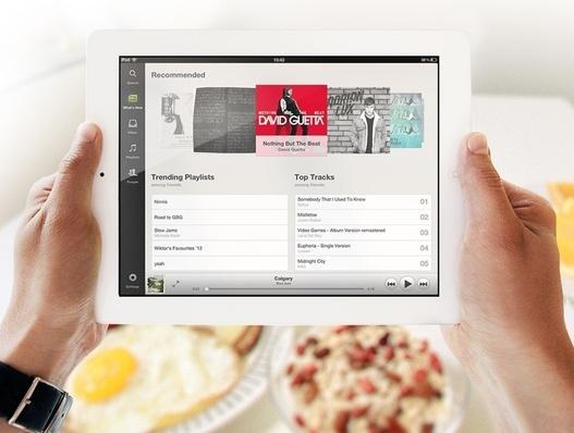 Spotify enfin disponible sur iPad