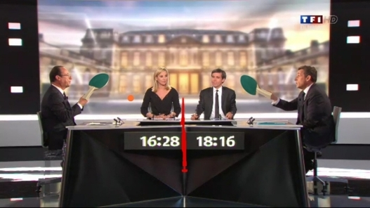 Débat Hollande-Sarkozy - Les grands moments en images