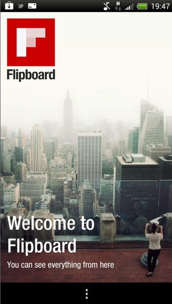 Flipboard sur Android - Installez le maintenant