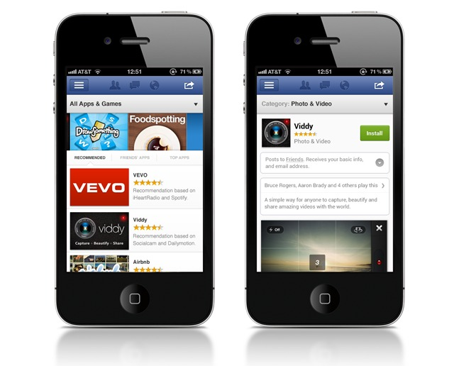Facebook App Center - La boutique d'applications Facebook