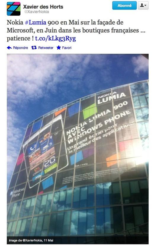 Nokia Lumia 900 - En Juin en France