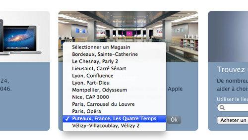 Apple Store de la Défense - C'est pour bientôt