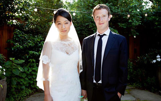Mark Zuckerberg s'est marié samedi - Changement de statut sur Facebook