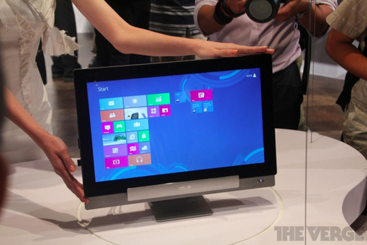 Asus Transformer AiO et le dual boot Android 4.0 / windows 8 devient ralit