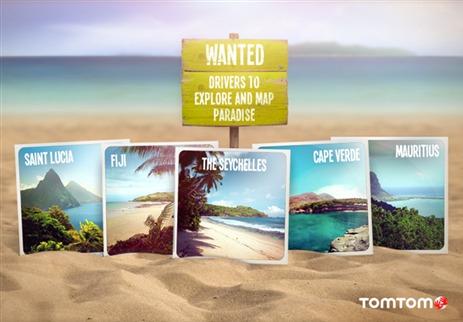 TomTom vous invite à explorer des îles de rêves