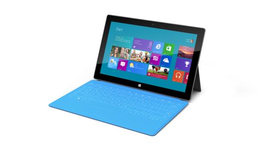 Microsoft présente Surface, sa tablette de 10,6 pouces sous Windows 8
