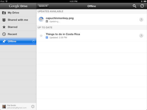 Tlchargez l'application Google Drive sur iPhone et iPad