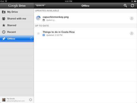 Téléchargez l'application Google Drive sur iPhone et iPad