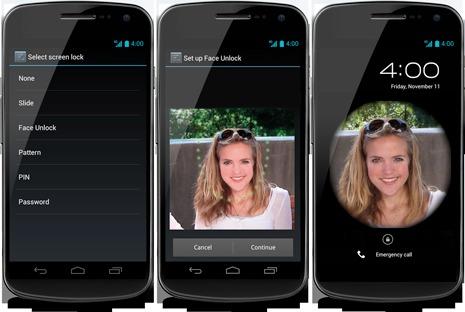 Android 4.1 - Déverrouiller votre device en un clignement d'oeil