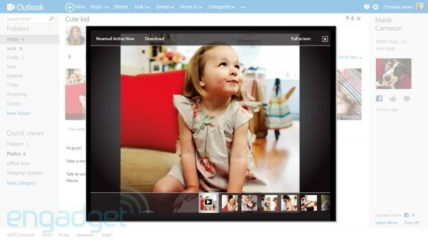 Outlook.com - Microsoft lance une nouvelle messagerie en ligne