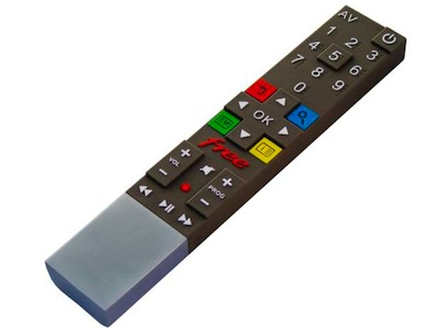 Les codes cachés de la télécommande Freebox