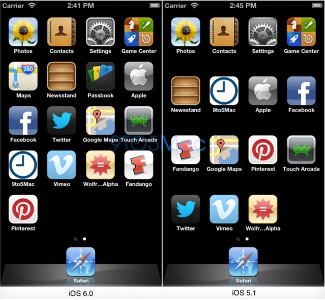 iPhone 5 - Plus d'applications sur l'écran d'accueil