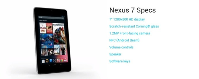 SFR va proposer la Nexus 7